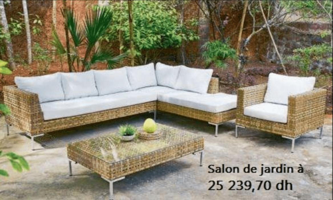 Promotion Salon De Jardin